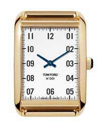 Tom Ford 44Mm 18K Gold Watch Head