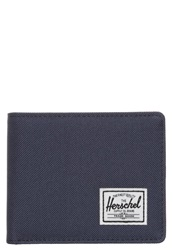 Herschel Roy Wallet Navy Red Dark Blue