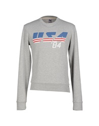 American College Sweatshirts Light Grey