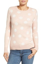 Halogen Graphic Pullover Petite Pink