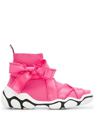 Red Valentino Glam Run Sneakers Pink