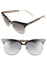 Women's Jimmy Choo 'Aryaya' 57Mm Retro Sunglasses Black