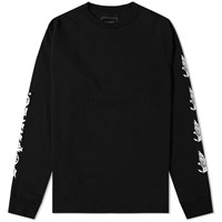 Sophnet. Long Sleeve Eagle Star Tee Black