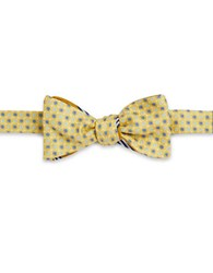 Brooks Brothers Reversible Bow Tie Gold