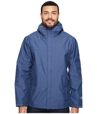 Columbia Diablo Creek Rain Jacket Zinc Men's Coat Blue