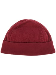 Diesel 'Cipolly' Beanie Red