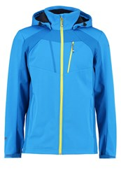 Icepeak Selby Soft Shell Jacket Turquoise Blue
