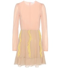 Red Valentino Silk Dress Pink