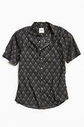 Katin Dust Short Sleeve Button Down Shirt Black