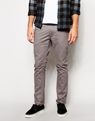 Cheap Monday Slim Fit Chinos Grey