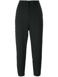 Twin Set High Waisted Trousers Black