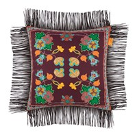 Etro Rushmore Tassel Edged Cushions Set Of 3 Red
