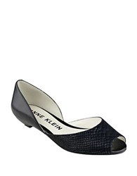 Anne Klein Fanetta Slip On Dress Flats Black