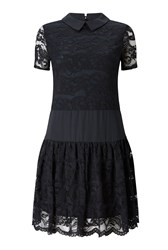 James Lakeland Lace Dress Black