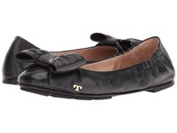 Tory Burch Divine Bow Driver Ballet Black