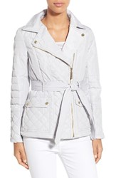 Women's Kensie Asymmetrical Quilted Jacket
