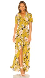 Yumi Kim Celia Maxi In Yellow. Honey Rose