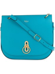 Mulberry Amberley Satchel Blue