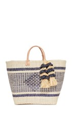 Mar Y Sol Ibiza Tote Natural
