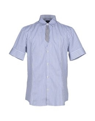 Gazzarrini Shirts Blue