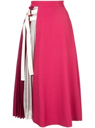 Guild Prime Pleated Detail Flared Skirt