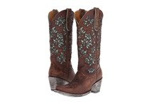 Old Gringo Mary Lou Brass Cowboy Boots Bronze