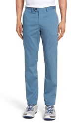 Ted Baker 'S London Water Resistant Golf Chinos Blue