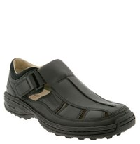 Men's Timberland 'Altamont Fisherman' Sandal Black Leather