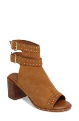 Topshop Women's North Studded Bootie Sandal Tan