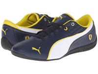 Puma Drift Cat 6 Sf Nm Dress Blues White Men's Shoes Navy