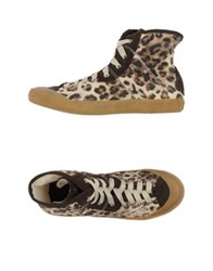 Met High Tops And Trainers Khaki