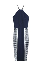 Roland Mouret Picton Dress Navy