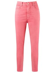 Amapo High Waisted Skinny Jeans Pink And Purple