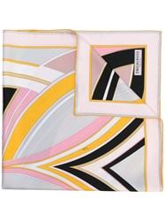 Emilio Pucci Printed Scarf Nude And Neutrals