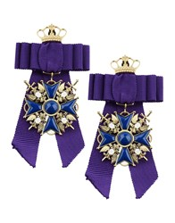 Dsquared2 Earrings Purple