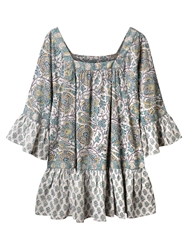 East Arya Gypsy Blouse White