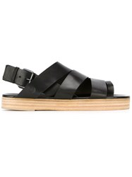 Marsell Marsell Open Toe Sandals Black