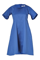 Jil Sander Bluette Cotton A Line Dress