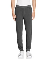 Atm Anthony Thomas Melillo French Terry Slim Fit Sweatpants Charcoal