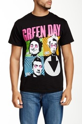 Bravado Green Day Spiral Graphic Tee Black