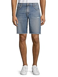 Joe's Jeans Distressed Denim Shorts Dunn