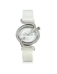 Just Cavalli Sin 2H Silver Tone Dial Women's Watch
