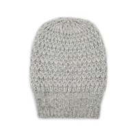Barneys New York Waffle Stitch Alpaca Blend Beanie Gray