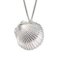 Harry Rocks Saba Shell Necklace Silver