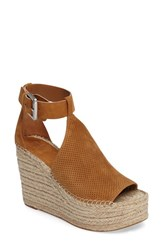 Marc Fisher Women's Ltd Perforated Espadrille Platform Wedge