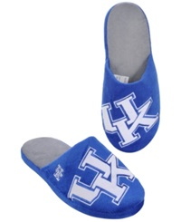 Forever Collectibles Men's Kentucky Wildcats Big Logo Slippers