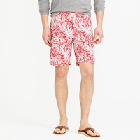 J.Crew 9' Swim Trunk In Faint Floral