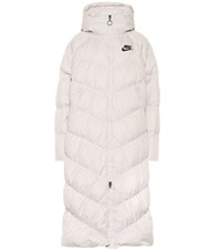 Nike Quilted Down Parka White