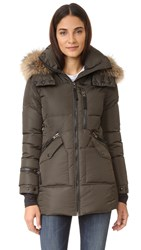 Sam. Fur Cruiser Parka Military