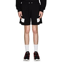 Givenchy Reflective Detailed Cotton French Terry Shorts Black